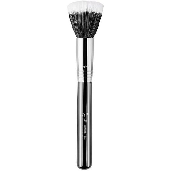 Sigma Duo Fibre Brush - F50 1 ea ($26) ❤ liked on Polyvore featuring beauty products, makeup, makeup tools and makeup brushes