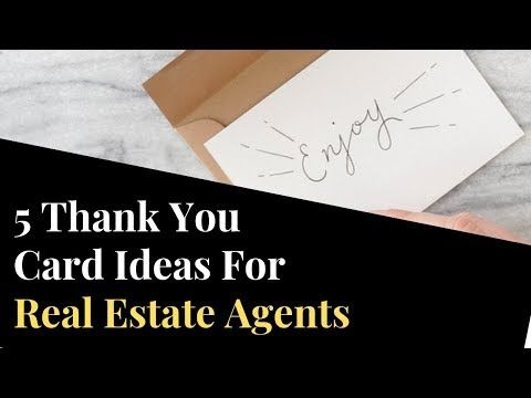 5 Thank You Letter Samples For Real Estate Agents Real Estate