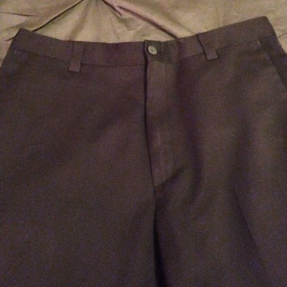 Kenneth Cole Reaction Black Slacks Kenneth Cole Men's Black Pinstripe Slacks. 32x30 Worn once. Color is more true in second picture. Kenneth Cole Reaction Pants Trousers