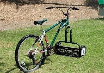 red-neck mower