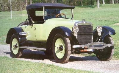 1922 Wills Sainte Claire A-68 Roadster