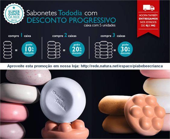Promoção Sabonetes Tododia Natura. http://rede.natura.net/espaco/piabebeecrianca