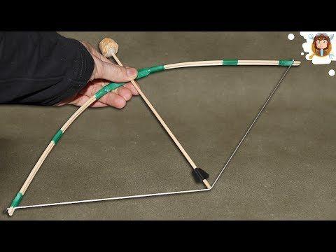 Como Fazer Um Arco E Flecha Youtube Laco De Origami Arco E Flecha