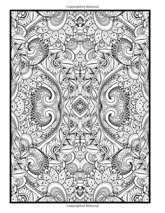 Advanced Coloring Designs Coloring Book for Adults Holly
