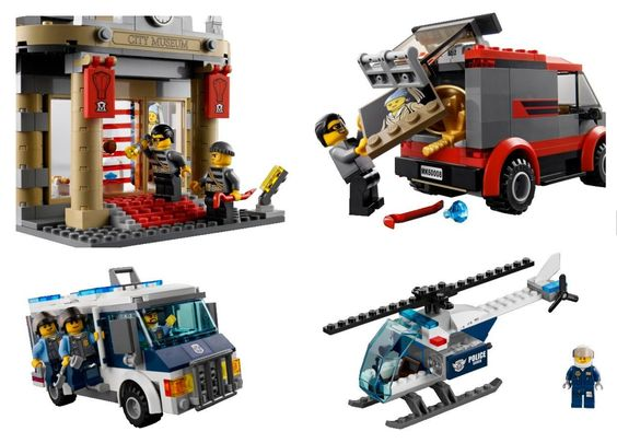 Lego City Sets With Robbers Google Search Lego News Lego Lego City Sets