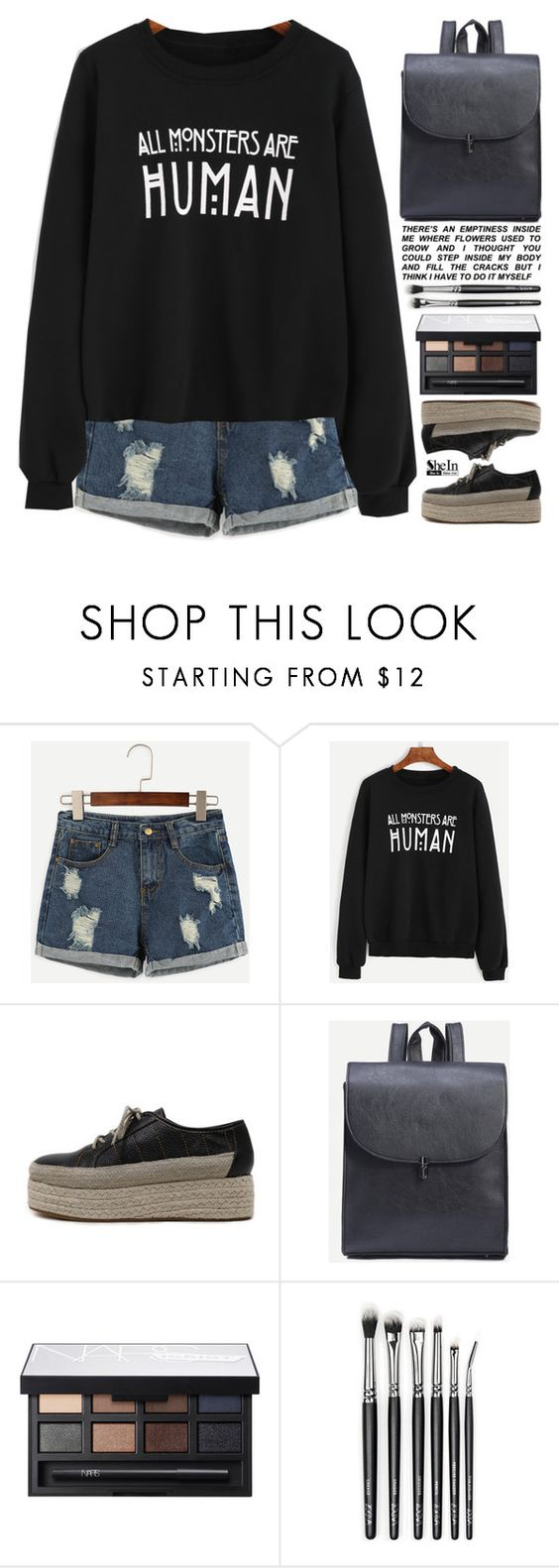 """takeover"" by scarlett-morwenna ❤ liked on Polyvore featuring NARS Cosmetics, kitchen and vintage"