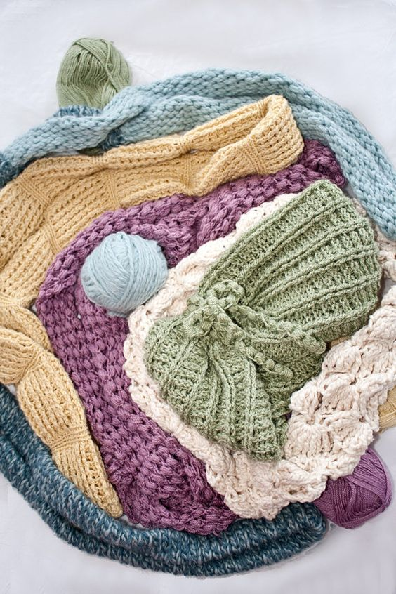 Crochet Pattern Infinity Tube Scarf Collection by ...