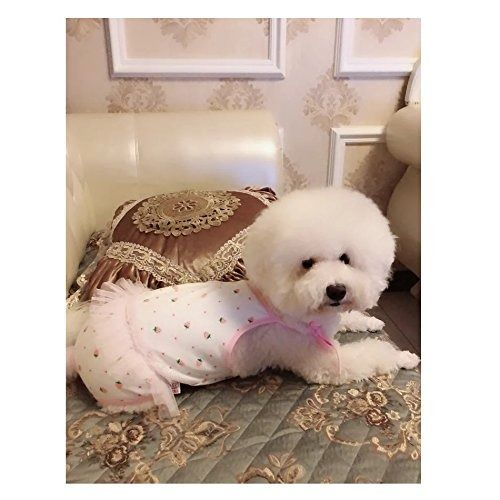 Dog Bathing Suits Pets Female Dog Diaper Dog Cute Summer Cotton