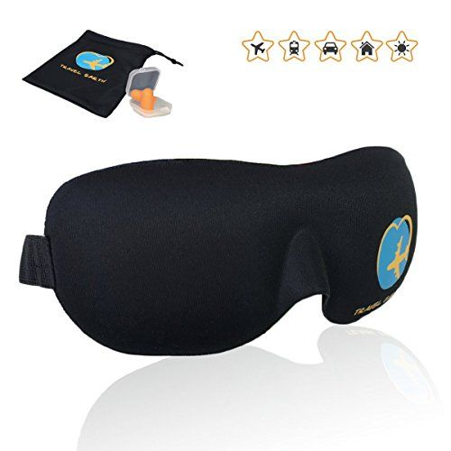 Kuershuang Masque de Sommeil 3D,Masque Oculaire L/éger et Confortable pour Dormir Meilleurs Masques de Sommeil pour Hommes Femmes Enfant