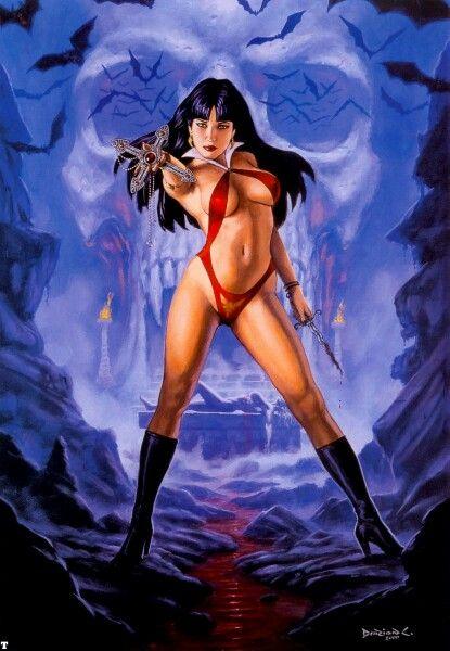 Vampirella by Dorian Cleavenger