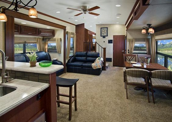 5th Wheel Front Kitchen Floor Plans Google Search Rv