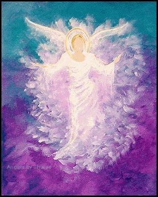 Ángel de protección infinita.