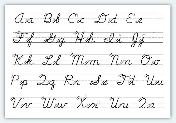 How to write in cursive schools orlando digital