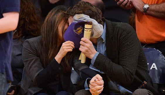 Mila Kunis Ashton Kutcher Cutest Moments 4
