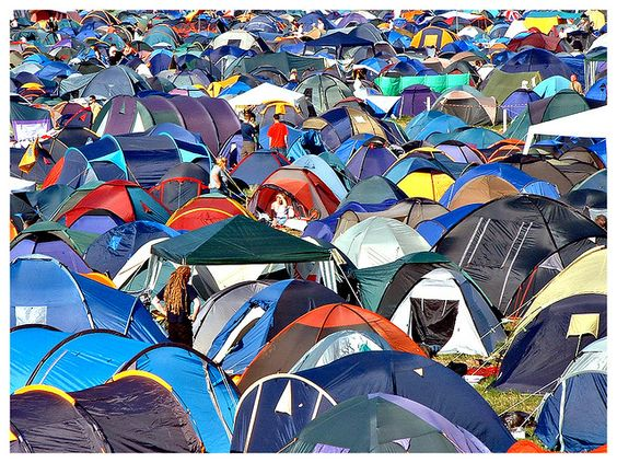 Glastonbury: In Tents