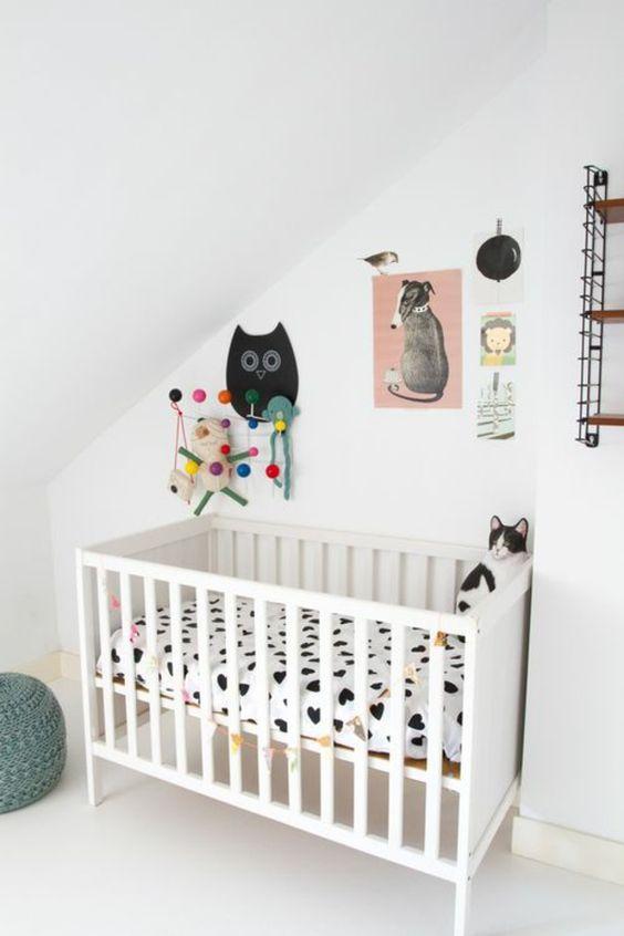 babyzimmer ideen gestalten beispiele klein raum. Black Bedroom Furniture Sets. Home Design Ideas