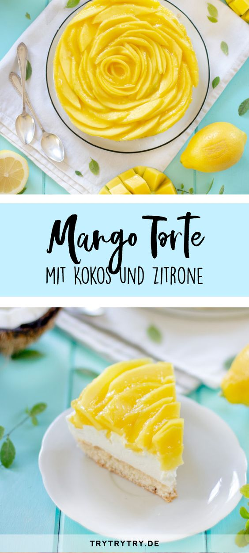 Mango-Kokos-Torte mit BioBio-Produkten und Smart Labeling