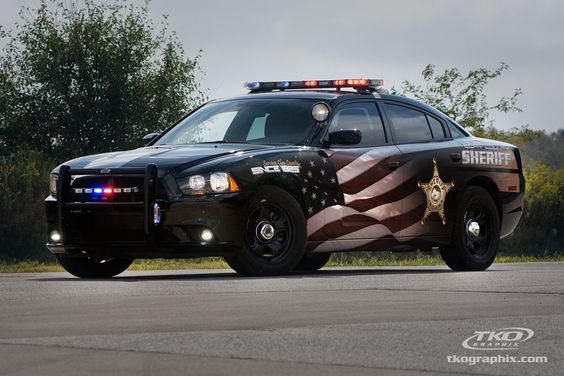 Clay County Sheriff Car Graphics Indianapolis Indiana