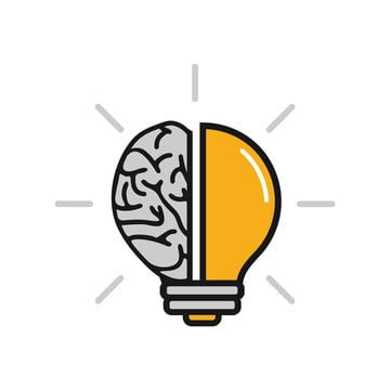 Brain Bulb Icon Symbol Design Logo Smart Idea Vector Download Brain Clipart Download Icons Brain Icons Png And Vector With Transparent Background For Free Do Symbol Design Logo Smart Brain Icon