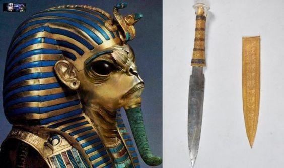 Nieuwe ontdekking - uit het graf van Toetanchamon armband | Complottheorieën: