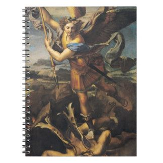 St. Michael Overwhelming the Demon, 1518 Notebook