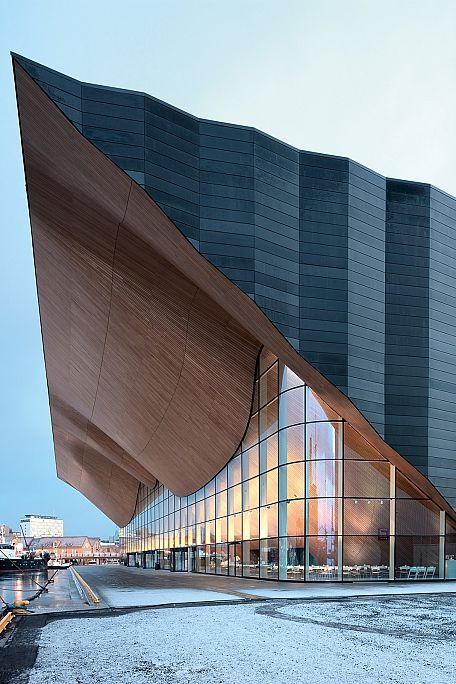 Kilden Theatre and Concert Hall, Kristiansand - The world needs more architecture like this.