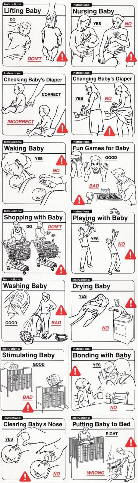 how to care for your baby