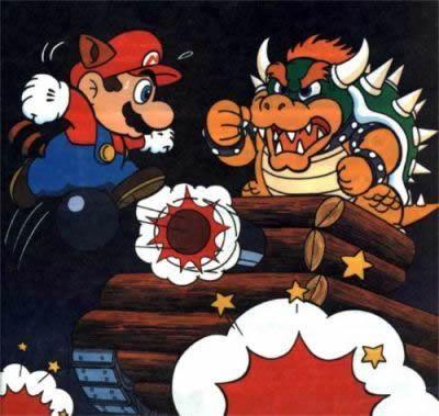 Super Mario Bros 3 Nes Artwork Including Enemies Worlds