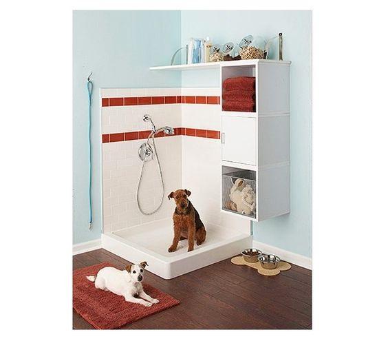 dog shower.. ❤