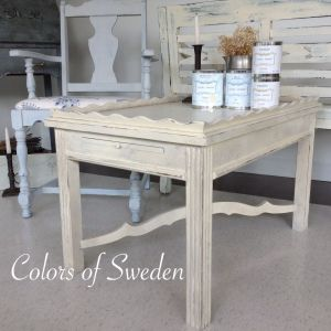 Swedish painted furniture style painted with candlelight glazed with lime wash sheer smoke Lime washed bedroom furniture