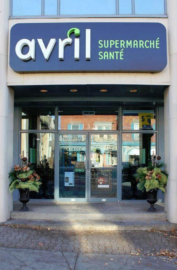 Avril Supermarché Santé - Granby, 132 rue Principale.