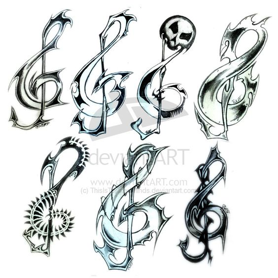 music tattoos | music tattoos for the man | tatoos ...