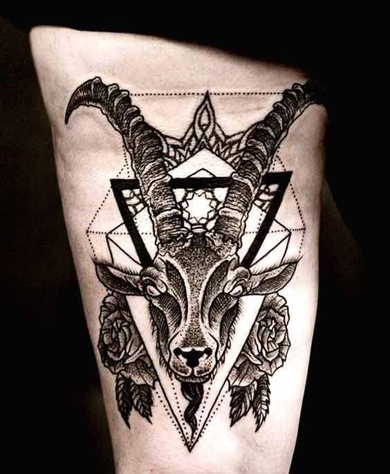 38 Best Capricorn Tattoos Designs And Ideas With Meanings In 2020 Capricorn Tattoo Tattoos Tattoo Designs