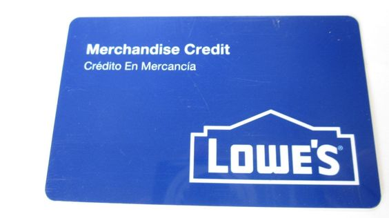 Lowes Merchandise Credit  In The Amount Of $202 ( shipped with tracking # ) https://t.co/dpdrng0Izy https://t.co/85cOkg02O3