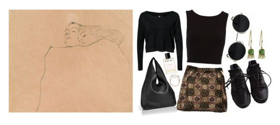 """""""Untitled #297"""" by mathildeplo ❤ liked on Polyvore featuring Jil Sander, Helmut Lang, Salvatore Ferragamo and NIKE"""