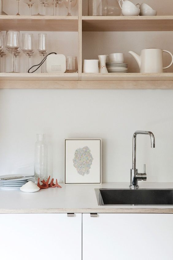 Cheap and stylish kitchen design? It's as easy as ply! - Decorator's Notebook