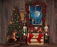 Twas the Night no santa - 8x10