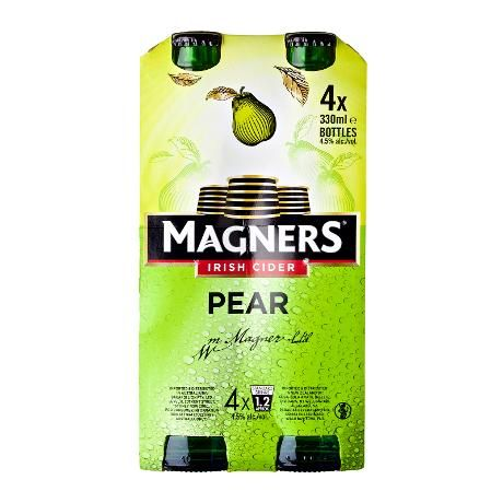 Bia Magners Pear Cider 4,5% - Chai 330ml