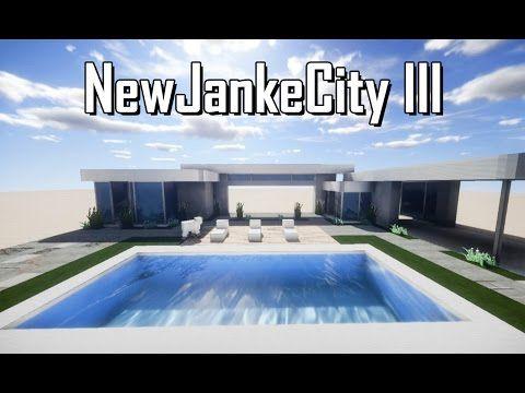 Newjankecity Iii Cidade Moderna Minecraft 1 Casa Moderna Pt 1