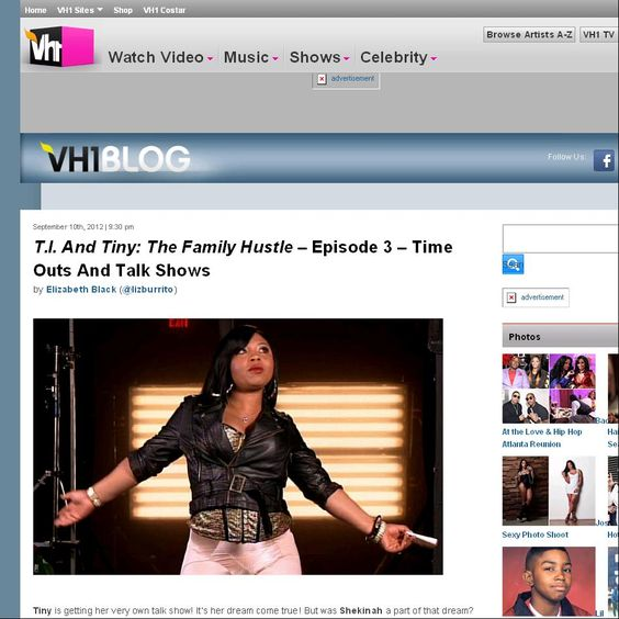 T.I. And Tiny: The Family Hustle – Episode 3 – Time Outs And Talk Shows