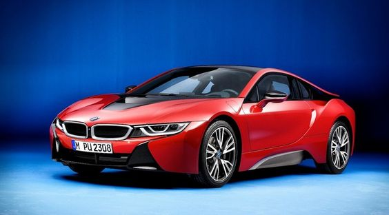 BMW i8 Protonic Red Edition, traje rojo para Ginebra - http://www.actualidadmotor.com/bmw-i8-protonic-red-edition-edicion-especial-rojo-ginebra/