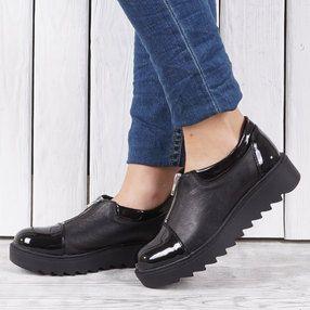 Pantofi dama din piele naturala VISINI 9512