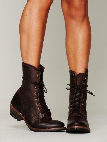 I want combat boots so bad!