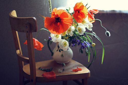 Love this Poppy bouquet!