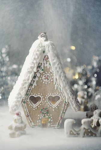 Christmas gingerbread house: