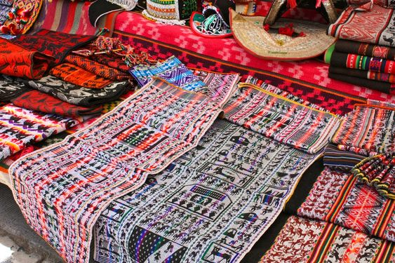Indigenous fabrics made of wool