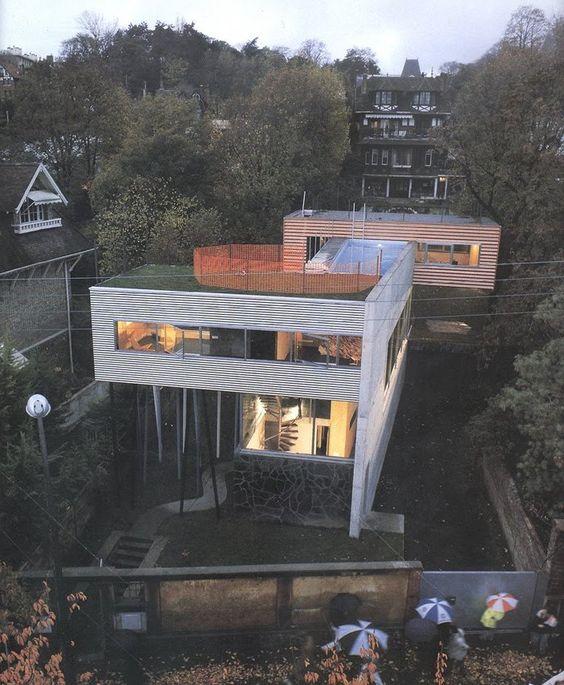 Villa dall'Ava, Saint-Cloud, Paris, France by Rem Koolhaas