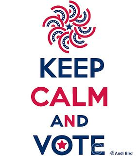 Keep Calm and Vote: