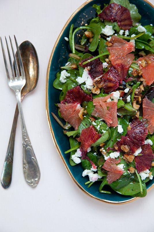 Vinaigrette chevre salat