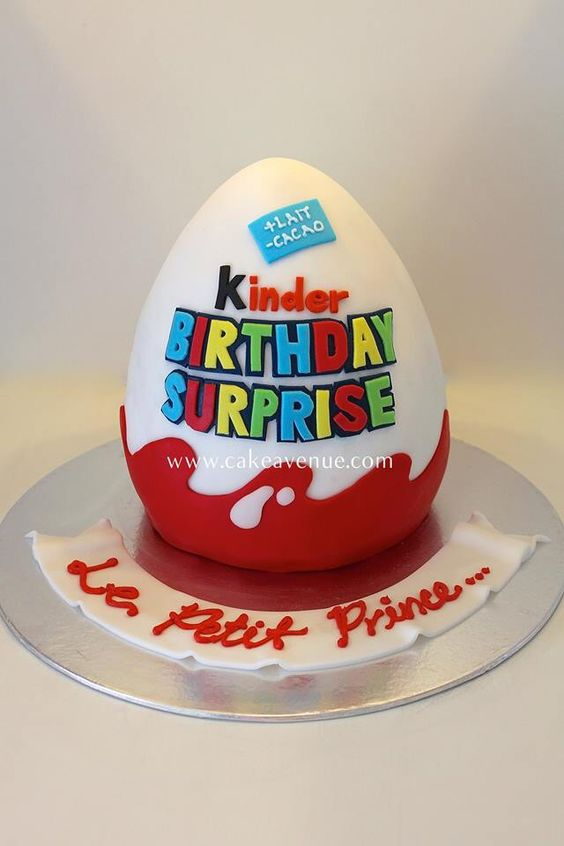 Gâteau surprise , Kinder Surprise Cake